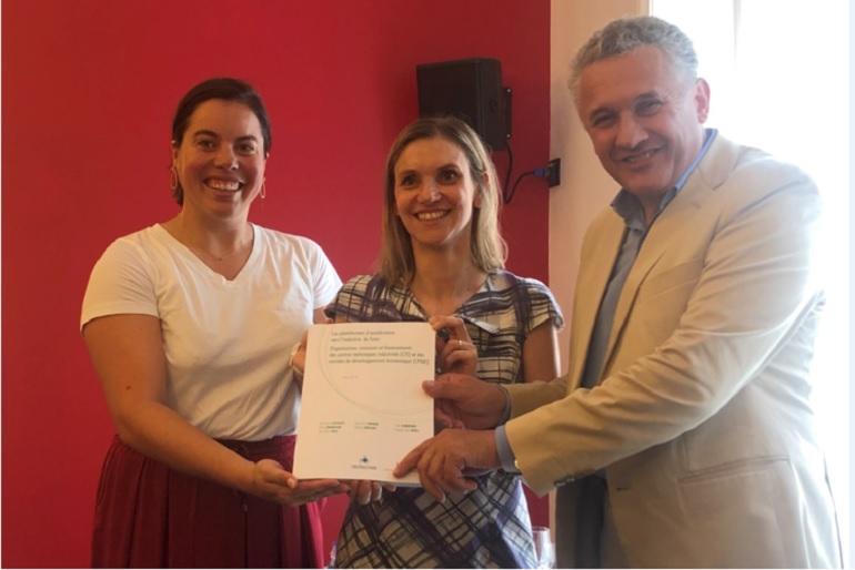 Plateformes d'accélération vers l'industrie du futur: Agnès Pannier Runacher a reçu le rapport sur le rôle des CTI et CPDE