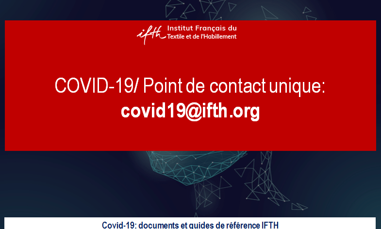 Covid-19 : masques et surblouses – synthèse Guides et documents IFTH