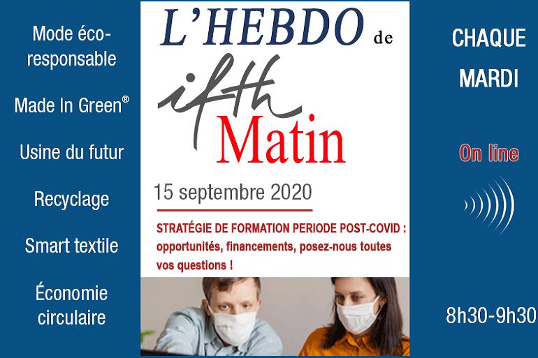 IFTH Matin l'Hebdo, votre nouveau rendez-vous en «live» tous les mardis !