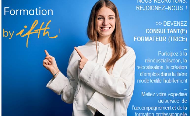 IFTH Recrute: rejoignez notre réseau de consultant(e)s-formateurs(trices) IFTH Formation !