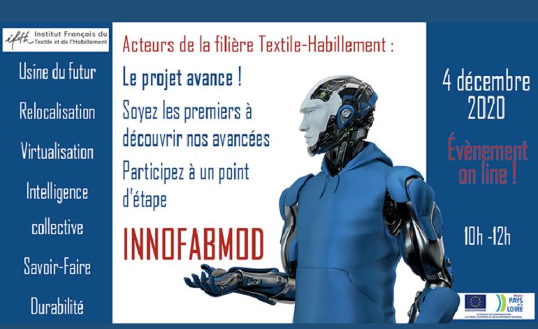 Industrie du futur: participez à notre point d'étape INNOFABMOD – 4 décembre 2020