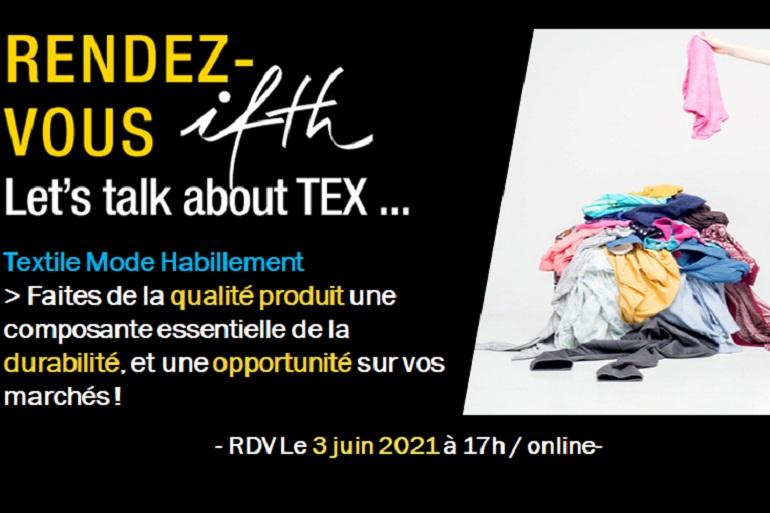 Faites de la qualité produit une composante essentielle de la durabilité, et une opportunité sur vos marchés – RDV IFTH Jeudi 3 juin 2021 /17h (online)