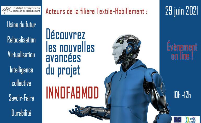 Découvrez les nouvelles avancées du projet INNOFABMOD – 29 juin 2021 /online